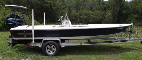 2004 Action Craft 1820 Flatsmaster