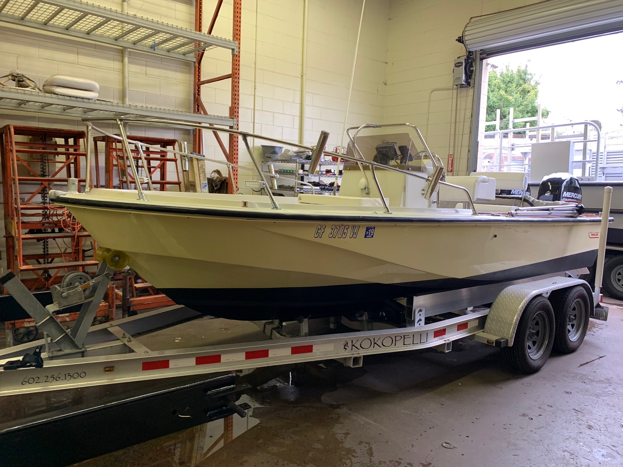 Check out this 1984 BOSTON WHALER Outrage 18 on Boattrader com