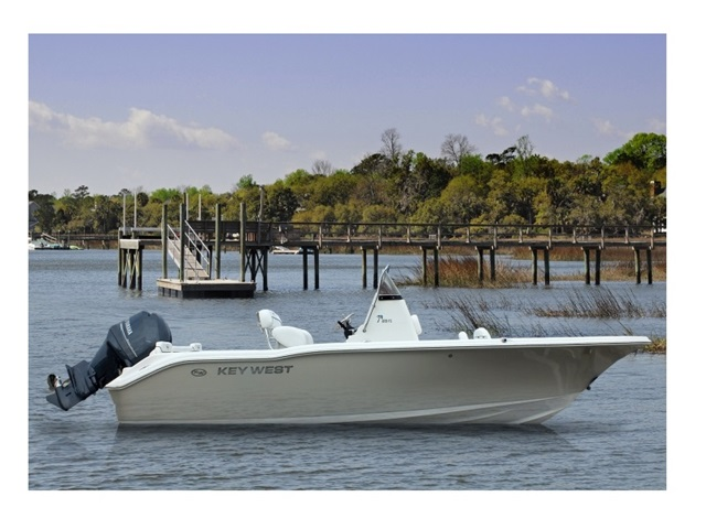 2015 Key West Center Console 219FS