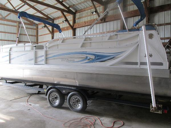 2007 JC PONTOON 306