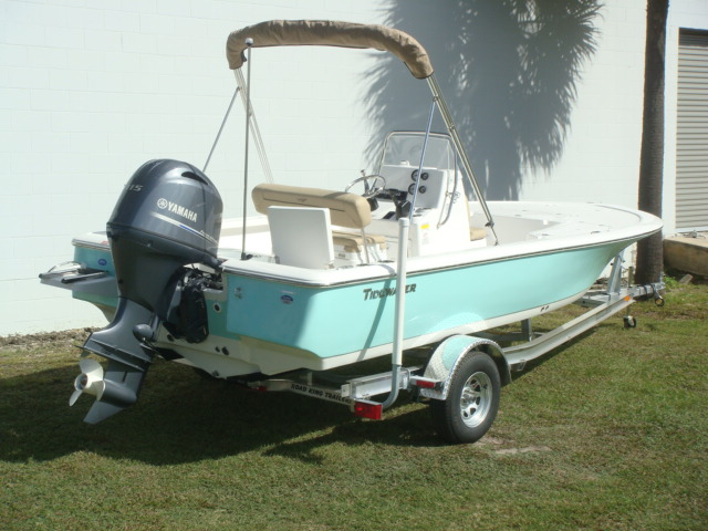2016 Tidewater Boats Center Console 1910 Bay Max 19 Foot