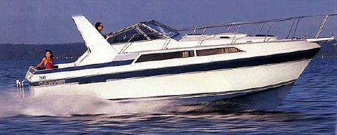 1989 Carver 32 Montego Manufacturer Provided Image