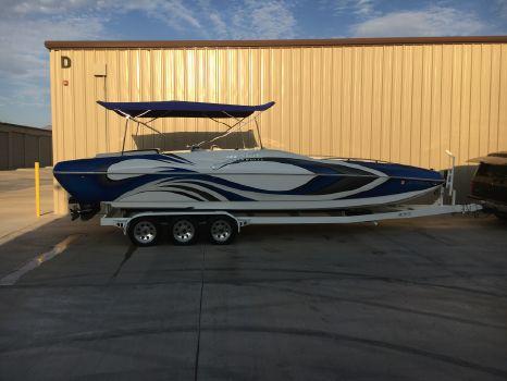 2007 Magic 28 Deckboat