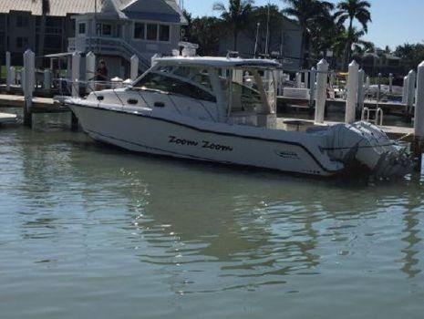 2016 Boston Whaler 345 Conquest Port Side