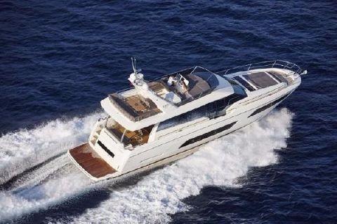 2017 Prestige Yachts 680 Fly Starboard Running Shot