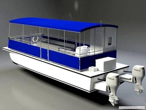 2015 Allmand 33 Catamaran Water Taxi