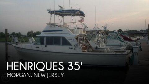 1984 Henriques 35 Maine Coaster Sportfisherman 1984 Henriques 35 Maine Coaster Tuna for sale in Morgan, NJ