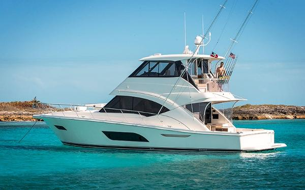 2017 Riviera 57 Enclosed Flybridge- AVAILABLE NOW! Riviera 57 Enclosed Flybridge