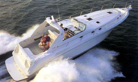 1998 Sea Ray 450 Sundancer w/420hp Cats