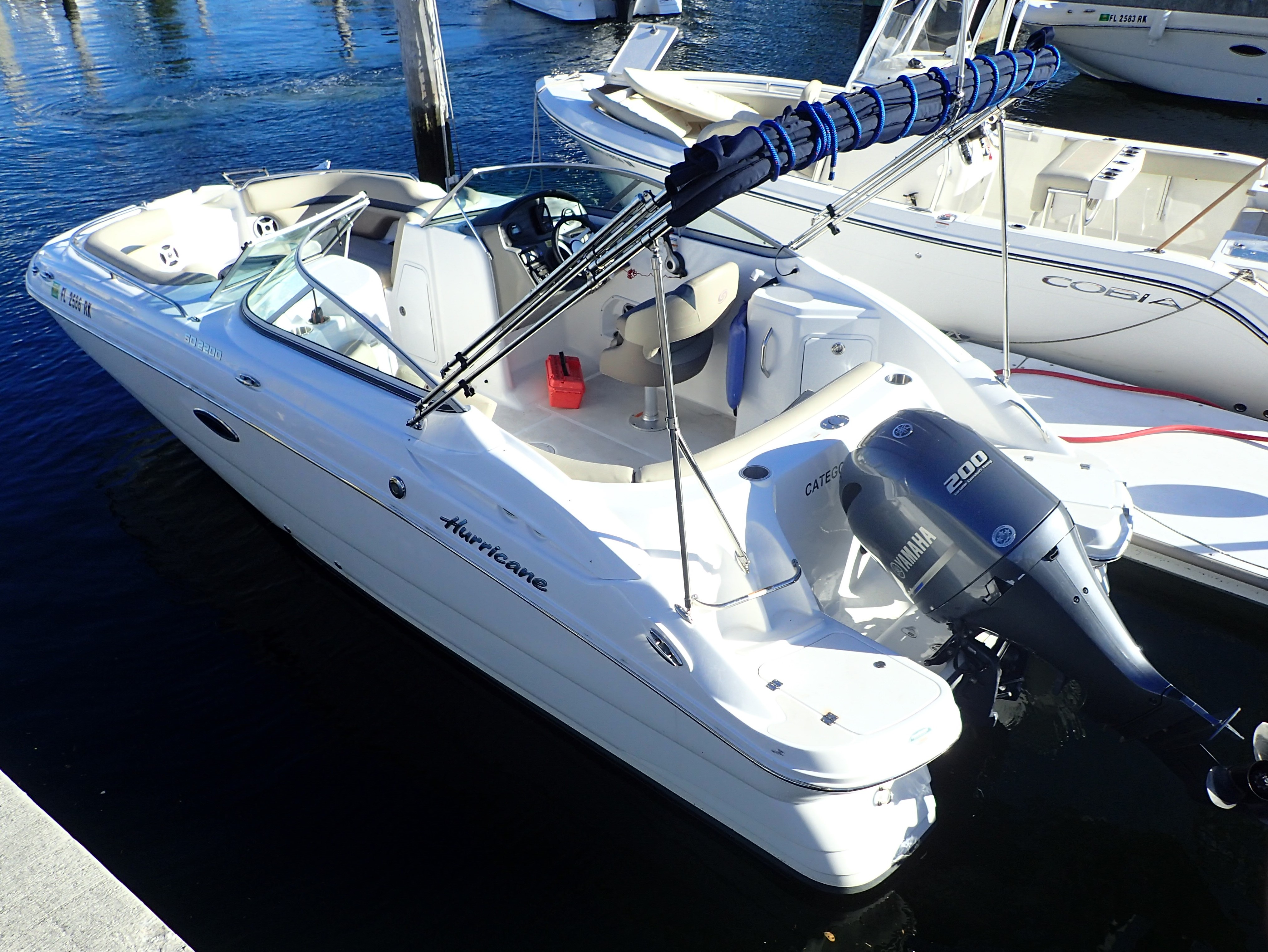 Check out this 2017 HURRICANE SunDeck 2200 DC OB on Boattrader com