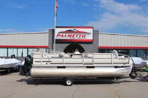 2001 Crest Pontoon Boats 22 Fisherman Sport