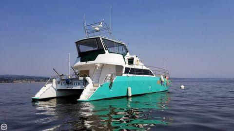 1996 Ocean Cat Ocean 53 Catamaran 1996 Ocean Cat Ocean 53 Catamaran for sale in Moss Landing, CA