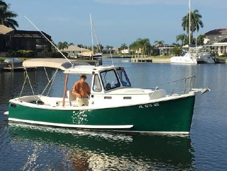 2003 Atlas Pompano 21 On the water