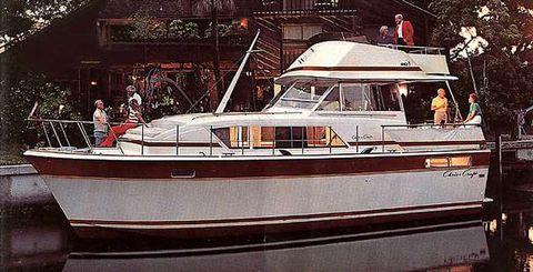 1983 Chris-Craft 410 Commander Yacht Manufacturer Provided Image