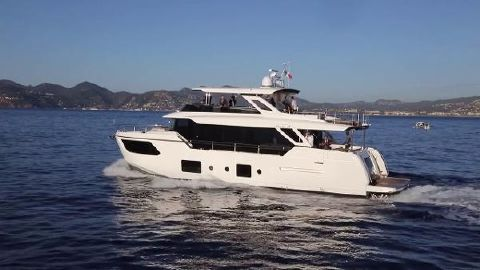 2018 Absolute Navetta 73 Port Side
