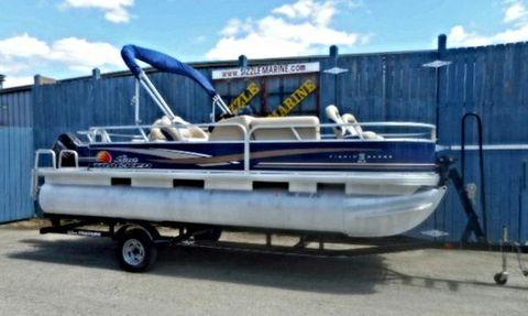 2013 Sun Tracker Fishing Barge 20 DLX