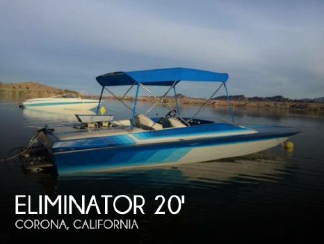 1987 Eliminator Boats 20 Sport Cruiser Jet 1987 Eliminator 20 Sport Cruiser Jet for sale in Corona, CA