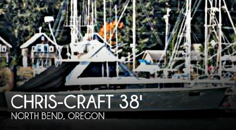 1966 Chris-Craft COMMANDER 38 1966 Chris-Craft Commander 38 for sale in North Bend, OR