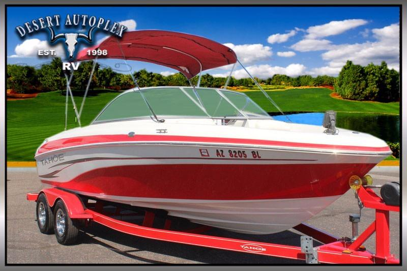 2007 Tahoe Q6 Ski & Fish Open Bow Boat