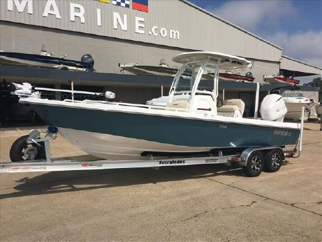 2016 EVERGLADES BOATS Center Console 243 SS