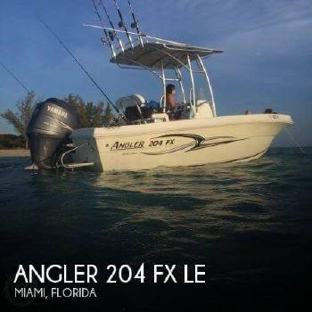 2007 Angler 204 FX LE