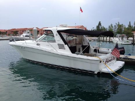 2000 Sea Ray 37 EC Port Profile