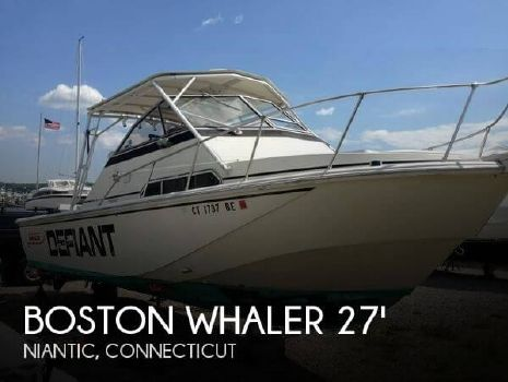 1987 Boston Whaler 27 Full Cabin 1987 Boston Whaler 27 Full Cabin for sale in Niantic, CT