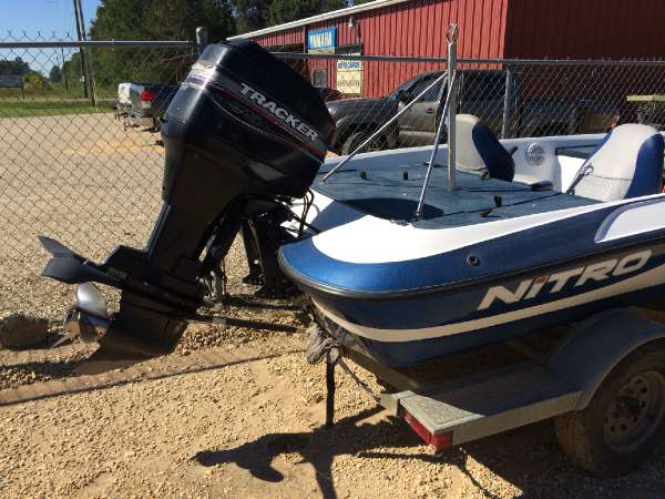 2003 nitro bass boat 15 foot 2003 motor boat in bogalusa for Used boat motors in louisiana