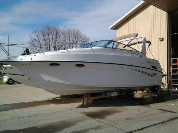 2004 crownline 290 cr 29 foot 2004 crownline motor boat for Used boat motors mn