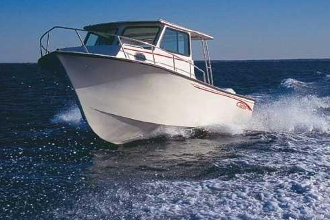 2005 May-craft 2550 Pilothouse Cabin Manufacturer Provided Image