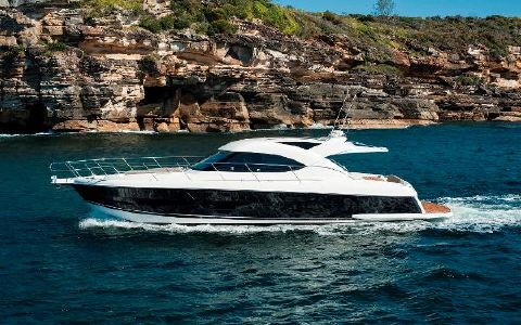 2016 Riviera 5000 Sport Yacht Manufacturer Provided Image