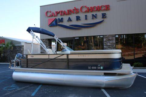2016 Crest Pontoon Boats Crest II Fish 210