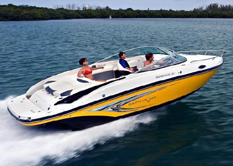 2009 Rinker 246 Captiva Cuddy Manufacturer Provided Image