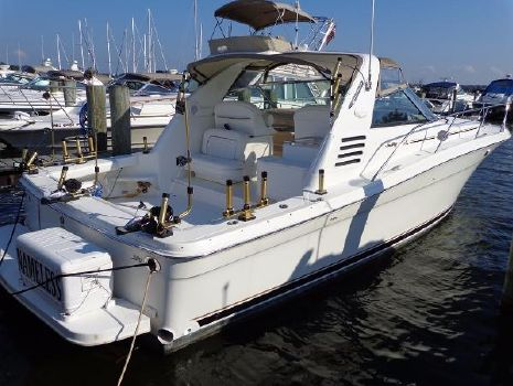 1999 Sea Ray 370 Express Cruiser Exterior 1