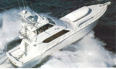 1999 Hatteras Enclosed Bridge Convertible 1999 Photo 1
