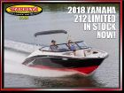 2018 Yamaha Boats 212 Limited