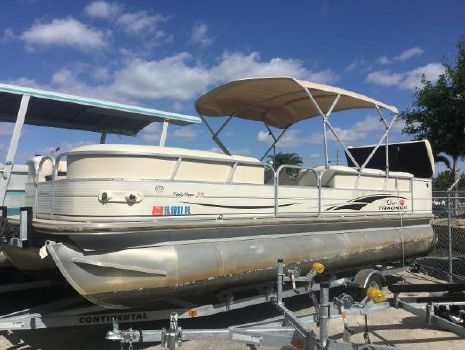2006 SUN TRACKER Party Barge 25 XP3 I/O