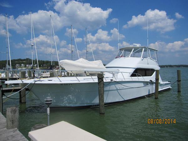 2000 Hatteras Convertible FRESH WATER