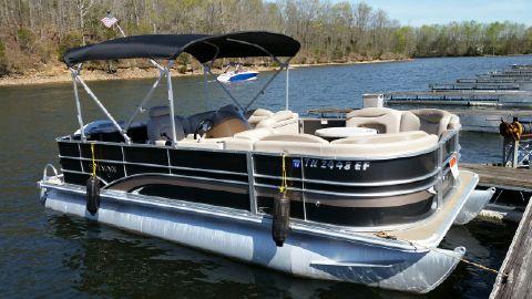 2014 Sylvan 8520 Mirage Fish-n-cruise