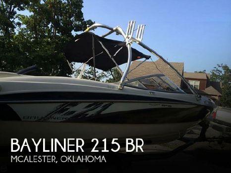 2011 Bayliner 215 Br 2011 Bayliner 215 BR for sale in Mcalester, OK