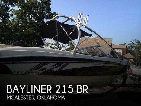 2011 Bayliner 215 BR