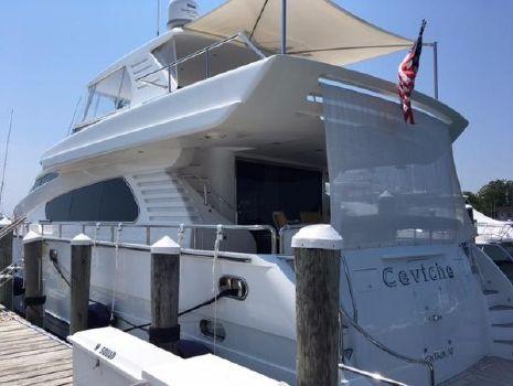 1999 Horizon 70 Motor Yacht Port Stern