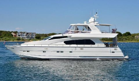 1999 Horizon 70 Motor Yacht Port Side