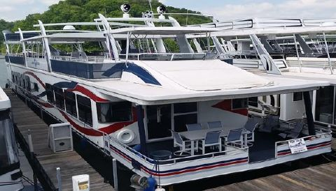 2004 Sharpe 20' x 112' House Boat