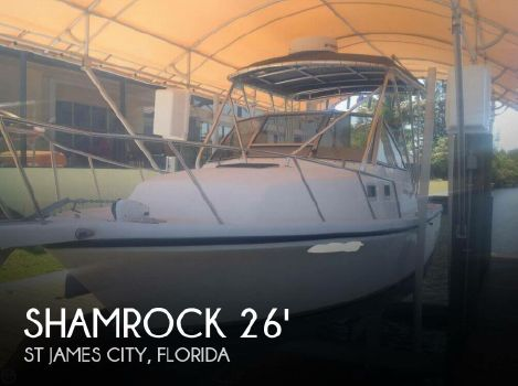 2001 Shamrock 260 Express 2001 Shamrock 260 Express for sale in St James City, FL