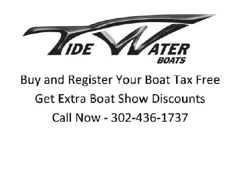 2016 TIDEWATER BOATS Buy Tax Free - Extra Discount