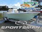 2017 SPORTSMAN Masters 207 Bay Boat