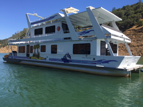 2000 Custom House Boat