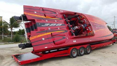 2014 Skater 388 Catamaran