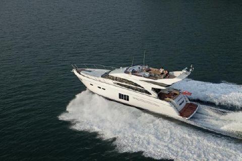 2013 Princess Flybridge 64 Motor Yacht Manufacturer Provided Image: Princess Flybridge 64 Motor Yacht